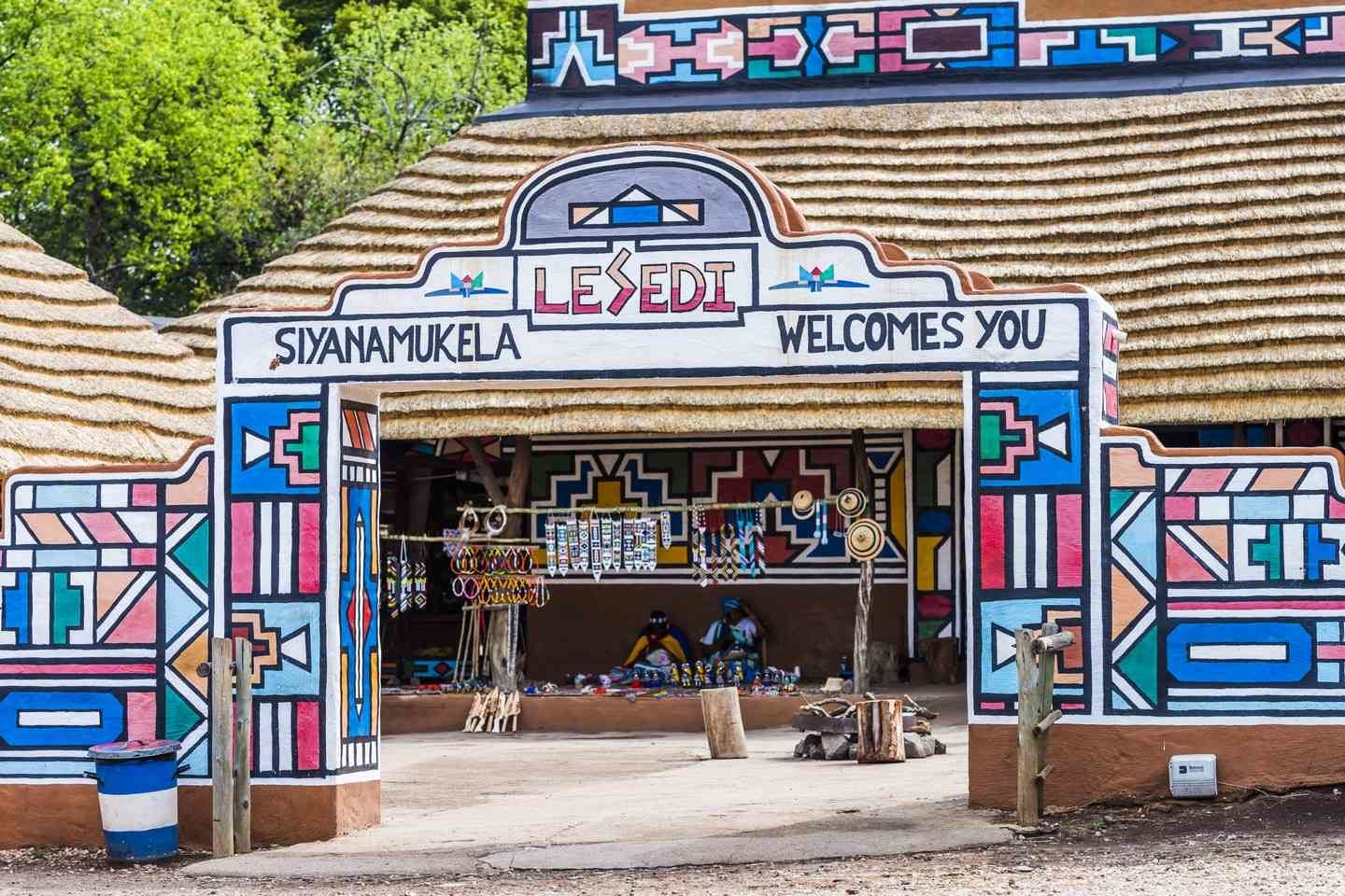 aha Lesedi Cultural Village - 1 Night - Self Drive